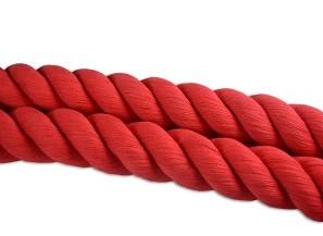 Corda di cotone rossa